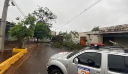 Defesa Civil emite alerta de tempestade com possível queda de granizo e descargas elétricas