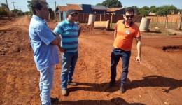 Edson Souza atende a demandas de moradores do Jardim das Primaveras e Jóquei Clube