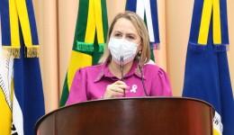 """""""Vamos juntos construir um Legislativo forte e unido"""", diz Liandra após ser eleita 2ª secretária da Câmara de Dourados"""